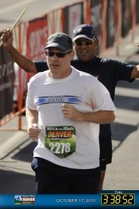 Denver Marathon Finish Line