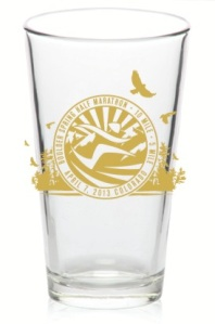 Boulder Half Beer Glass