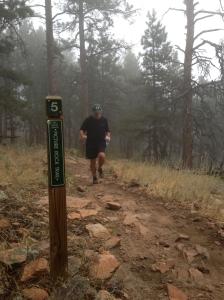 Steve at 5 miles