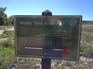 muddy trail