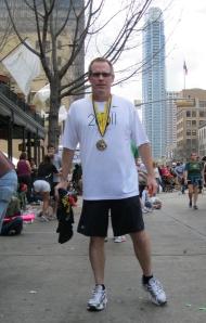 Austin Marathon standing