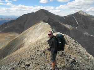 narrowing ridge