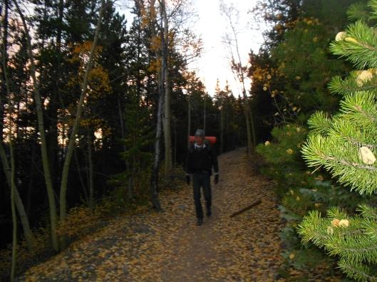 George on aspen trail