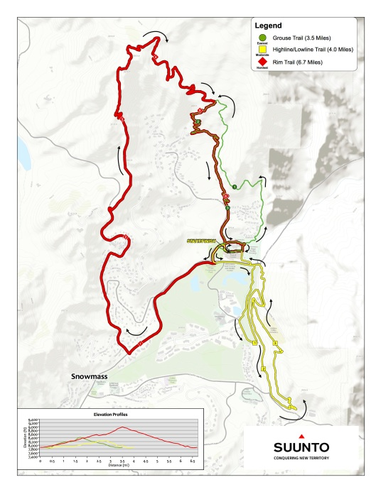 Course Map Snowmass