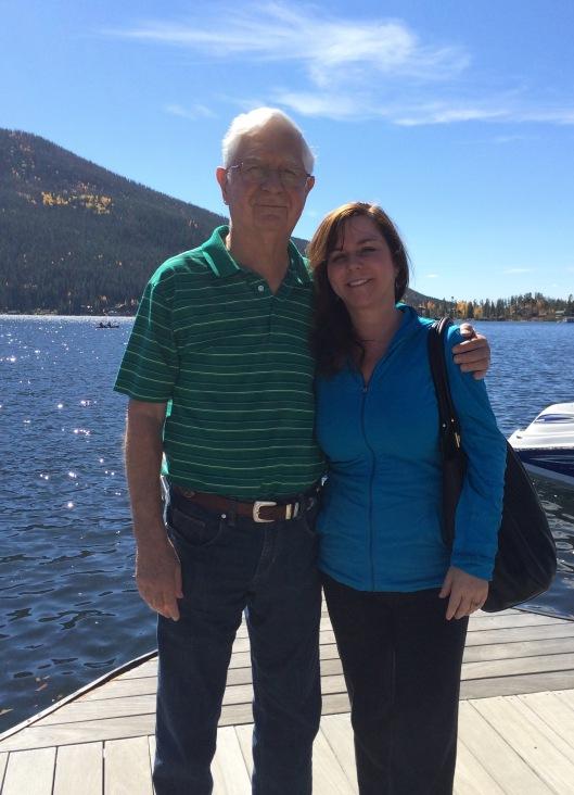 Karen and Papa
