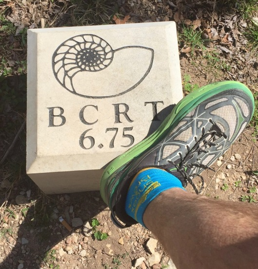BCRT mile marker