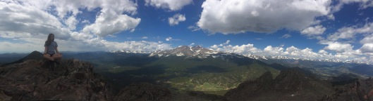 girl on the mountaintop