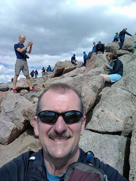 Rob on Mt Evans